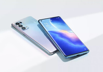 Lightest design with a curvy display